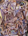 Geländer des Lebens, 110 x 95 cm