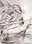 Abschied , Stift, 40 x 30 cm