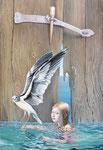 bird, 2012, 100 x 70 cm
