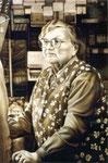 Frau Holzapfel, 100 x 70 cm
