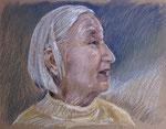 Elli 1, Pastell, 40 x 50 cm