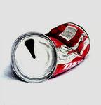 Cola, Stift, Aqaurell, 30 x 30 cm