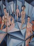 Spiegelungen 2, 80 x 60 cm
