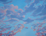 Wolken 4, 100 x 70 cm