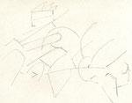 Radeln 2, Stift, 17 x 20 cm