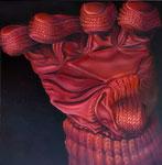 Handschuh, 95 x 95 cm