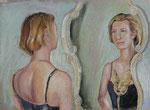 Venedig 4, Pastell, 20 x 50 cm