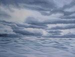 Wolken 5, 100 x 70 cm