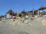 Thalasso Spa - lettini per massaggi in riva al mare