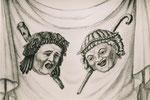 Masken, Tragödie und Komödie