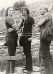 Ursula Engelbrecht (Gertler), Studienfreundin, Bildhauerin, Lu, Axel, 1972