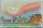 Poel, Sonnenaufgang vom Kieckelberg aus