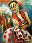 Iris tanzt Flamenco