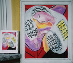 """Freie Kopie nach Matisse """"Der Traum"""""""