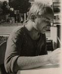 Axel Krüger, 1972, (verstorben 1979), Grafiker, Studienfreund und Patenonkel von Sara