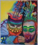 Spanische Stylistin vom Wismarer Straßenfest