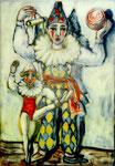 Harlekin und Marionette