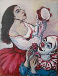 Tänzerin und Pierrot