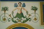 Detail. Genius mit Rosenstöckchen (Attribut Bacchus)