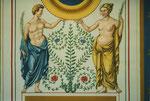 Herkules und Fortuna mit Feder