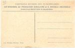 Retro Cartolina Ricordo del II° Centenario dell'Esposizione della Statua di san Michele anno 1909