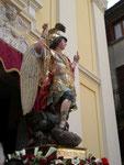 Uscita della Statua del Patrono San Michele