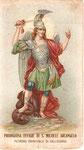 Santino del 1909 (nel II° Centenario dell'Esposizione della Statua di San Michele)