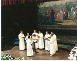 Sezione Maschile della Cappella Musicale al Concorso Internazionale di Arezzo