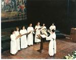 Sezione Femminile della Cappella Musicale al Concorso Internazionale di Arezzo