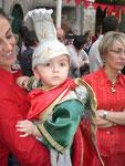 Bambino vestito da San Michele (Giulio Colandrea)