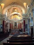 L'interno della Chiesa di Sant'Angelo