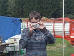 Mein Sohn Roland einer der Fotografen wie man sieht