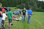 Unter Modellflugschnuppertag 2011 findet man mehr Fotos