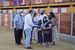El Viceconsejero de Presidencia entrega a la Familia de D. Vicente Castaño