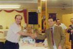 Trofeo Pueblos de la Mancha año 2000 Pedro Muñoz
