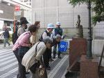 日本洋裁業発祥顕彰碑