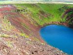 Krater IJsland