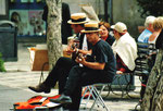 Lifemusik in Taormina
