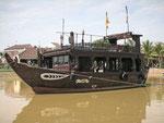 Boot im Thu Bon Fluss