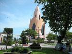 Futuristischer Turm in Nha Trang