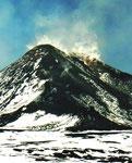 Der Gipfel des Ätna