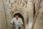 Tunneleingang für Touristen