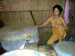 Reisplattenherstellung