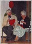 Franz Frye und Anneliese Feldhaus gaben einige Playback-Shows