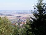 Blick auf das Schloss von Wernigerode