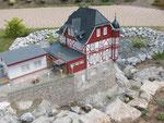 Steinerne Renne (Modell im Miniaturpark Harz)