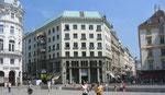 Looshaus, la « Maison sans sourcils », par Adolf Loos, Michaelerplatz