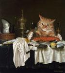"""""""Déjeuner avec homard"""" par Willem Claeszoon Heda 1594-1680 et Svetlana Petrova"""