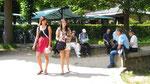 au parc de Versailles