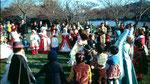 Les enfants et le carnaval
